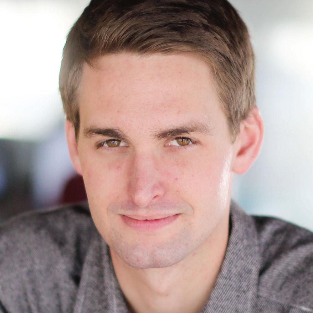 Snapchat Gründer Evan Spiegel