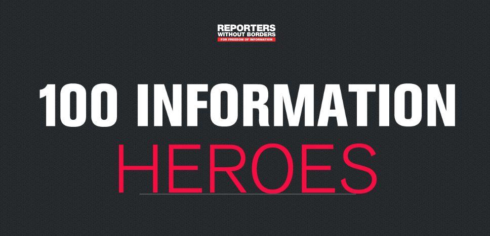 Quelle: Reporter ohne Grenzen RWB Information Heroes