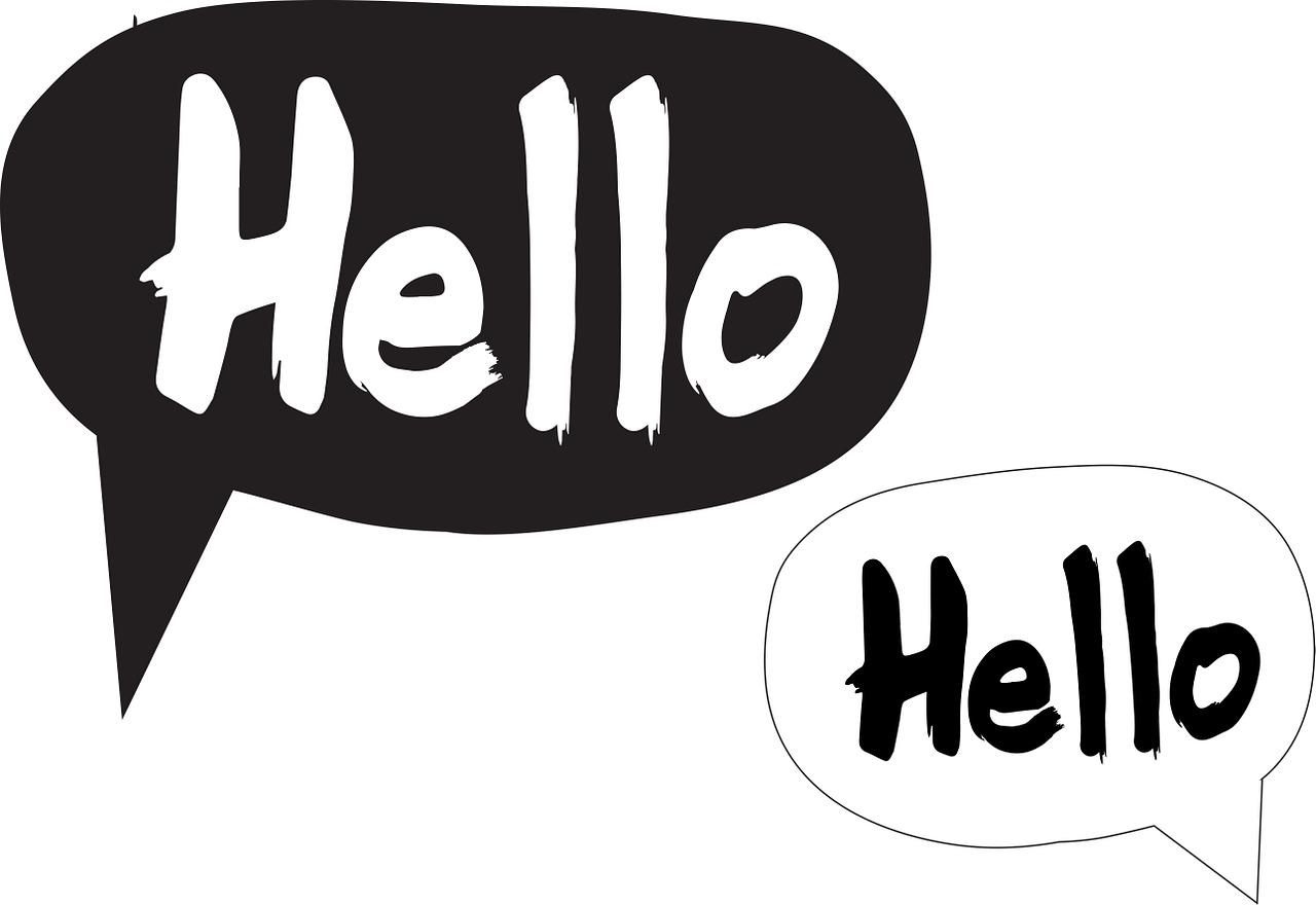 Hello Sprechblasen