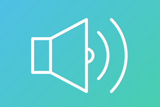 Messaging One Voice Lautsprecher Symbol