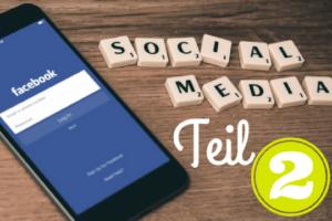 Facebook Werbung Smartphone Social media