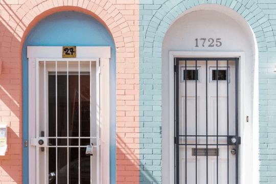Facebook Werbung Look Alike Hausnummern Haustüren