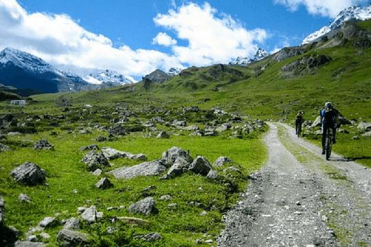 Faulpelztag Mountainbike Radtour Berge
