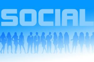 Twitter Fuer Unternehmen Social Menschen Figuren Grafik