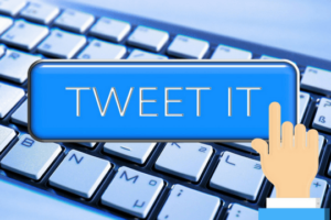 Twitter Tastatur Symbol Taste