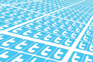 Twitter Unternehmen Symbole Grafik