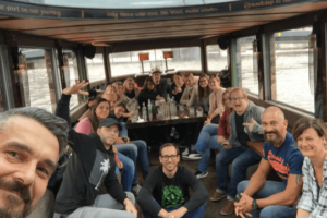 Flutlicht Team Amsterdam Boot Bootsfahrt Grachten