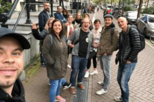 Flutlicht Team Amsterdam Tour Gruppe Teamspirit Incentive