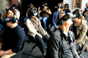 Flutlicht Team Amsterdam Vr Kino Virtual reality Zuschauer