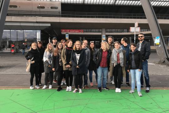 Flutlicht Team Amsterdam Gruppenbild