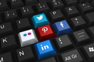 Personal Branding Social Media Tastatur