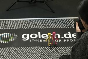 PR Job Golem Logo Teppich
