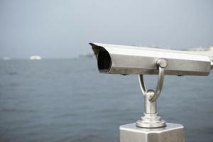 Twitter Reichweite Steigern Suche Fernrohr Fernglas Horizont Meer