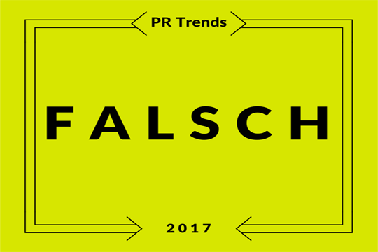 Digitale PR Trends, falsch