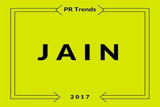 Digitale PR Trends, jain