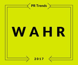 Pr Trends 2017 wahr Grafik