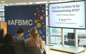 AFBMC Allfacebook Marketing Konferenz Recht Online Marketing