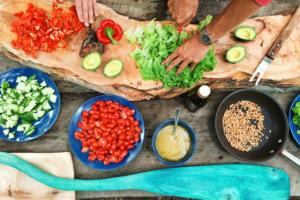 Arbeitgebermarke Kommunikation Kochen Gemüse