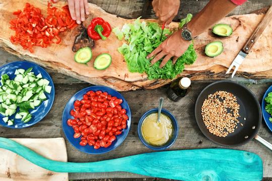 Arbeitgebermarke, Essen, Kost