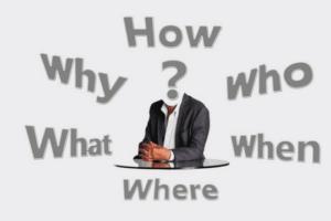 Pressemitteilung Schreiben Lead How why who what when where Fragezeichen