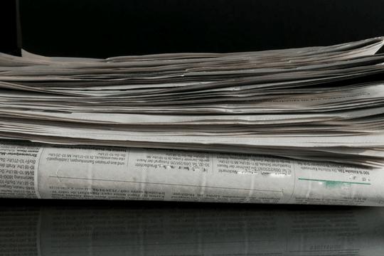 Pressetext, Zeitungen