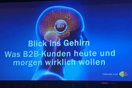 B2B Kommunikation, TIK 2018, Dr. Hans-Georg Häusel