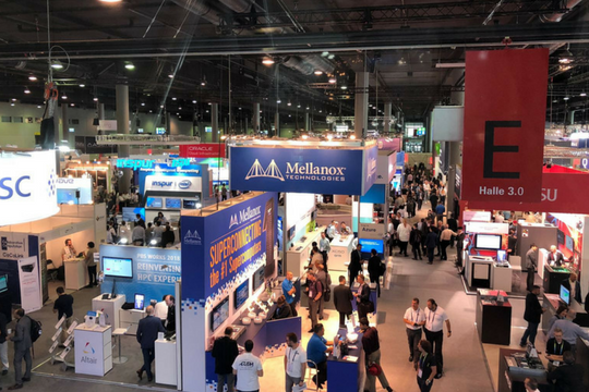 ISC 2018, Messehallen, Supercomputer