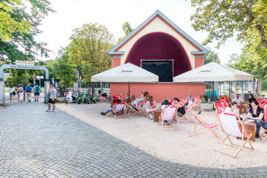 Public Viewing in Nürnberg, Gutmann am Dutzendteich