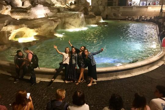 Flutlicht Agenturausflug, Fontana di Trevi, Rom
