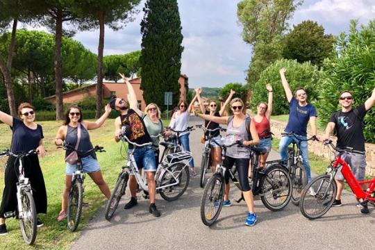 Flutlicht Agenturausflug, Fahrradtour