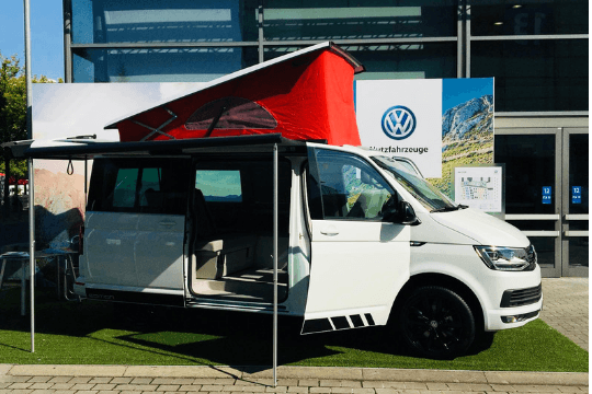 IAA Nutzfahrzeuge in Hannover, Camper