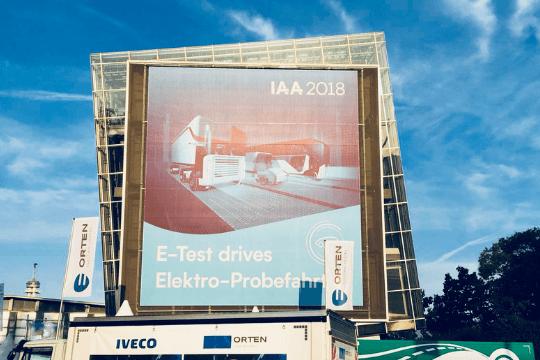 IAA Nutzfahrzeuge in Hannover, Plakat
