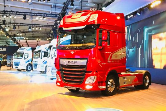 IAA Nutzfahrzeuge in Hannover, Truck