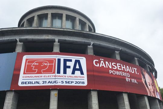 IFA 2018 Berlin, Messe