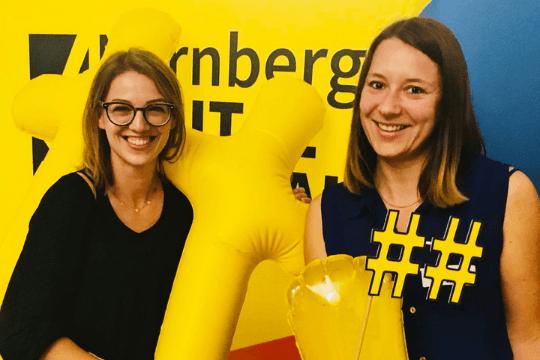 Social Media Night Nürnberg, Digital Festival, Laura und Steffi