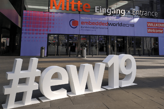 Messekommunikation auf der Embedded World, Messe Nürnberg