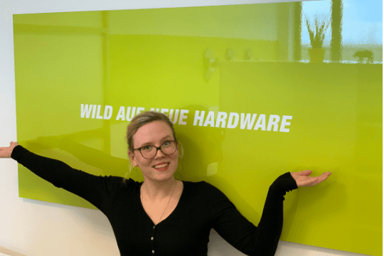 Flutlicht Teamzuwachs, Johanna Schulzki