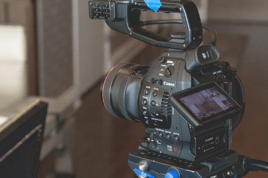 Messe-PR, Kamera
