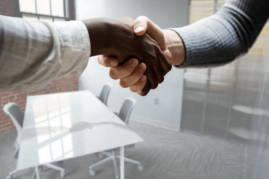 Employer Branding Strategie, Handshake
