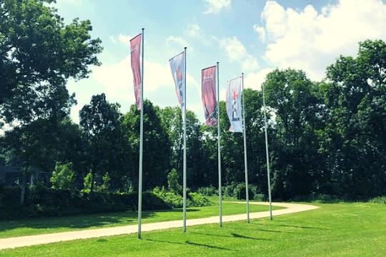 B2B-Marketing, TIK 2019, BVIK, Fahnen