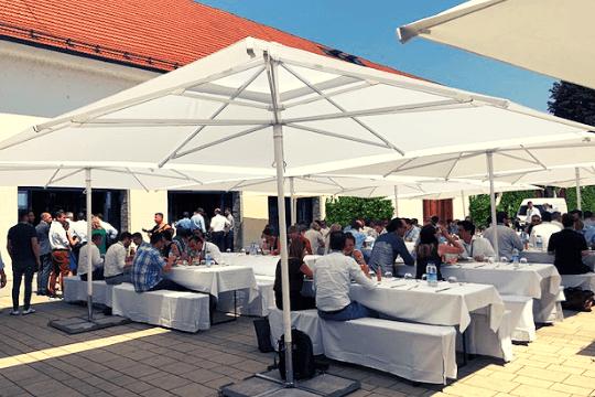 B2B-Marketing, TIK 2019, BVIK, Mittagspause, Lunch