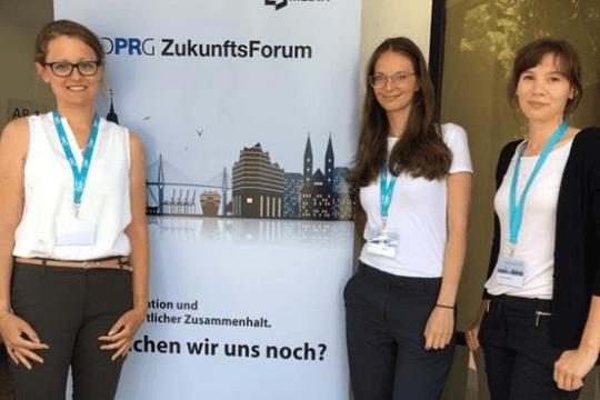 DPRG ZukunftsForum, Alice, Clara, Beate