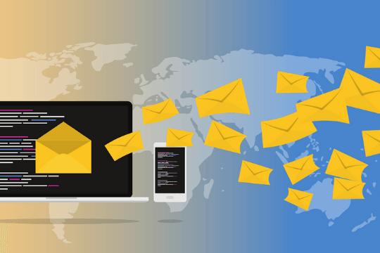 Erfolgreiches Newsletter-Marketing, Landkarte, E-Mail