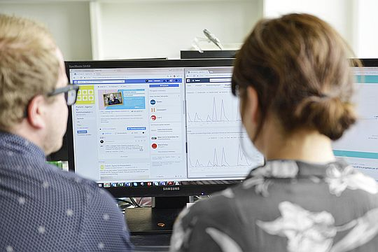 Social Media Reporting, KPIs, Flutlicht