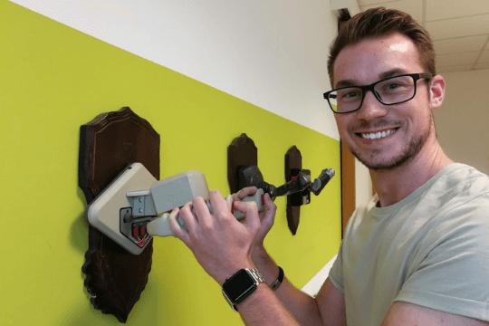Flutlicht-Familie, Dennis Christ, neuer Junior PR-Berater