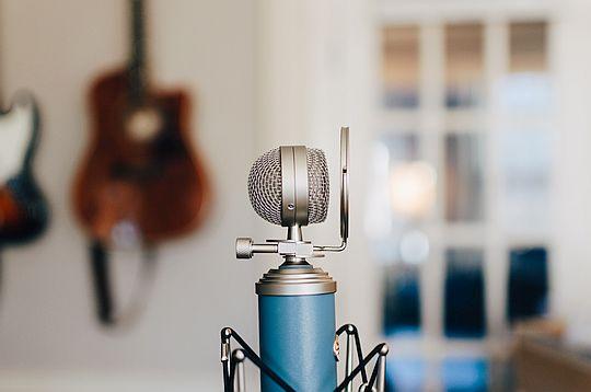 Audio PR, Mikrofon, Aufnahme