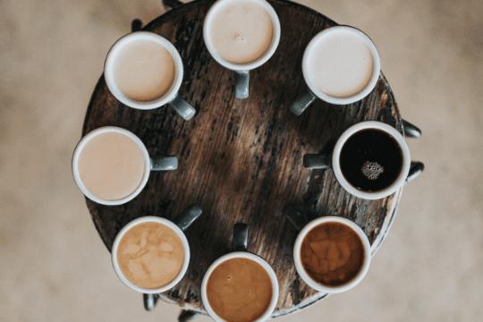 Quereinstieg in der PR, Kaffee