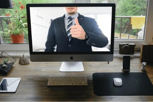 Erfolgsfaktoren für Webinare, Screen