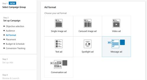 Tipps für LinkedIn Message Ads