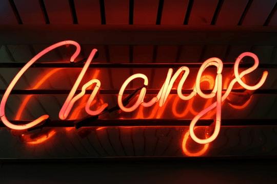 Erfolgreiche Change-Kommunikation, Header, Neon